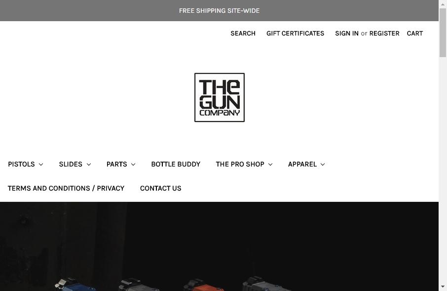 15 beautifully designed Gun website examples in 2021 17