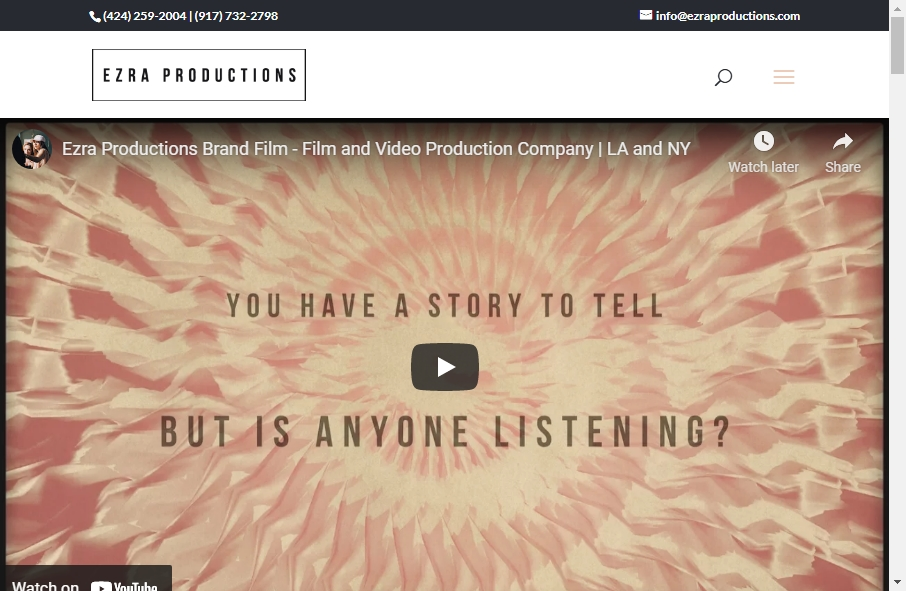 19 Amazing Video Website Design Examples in 2021 17