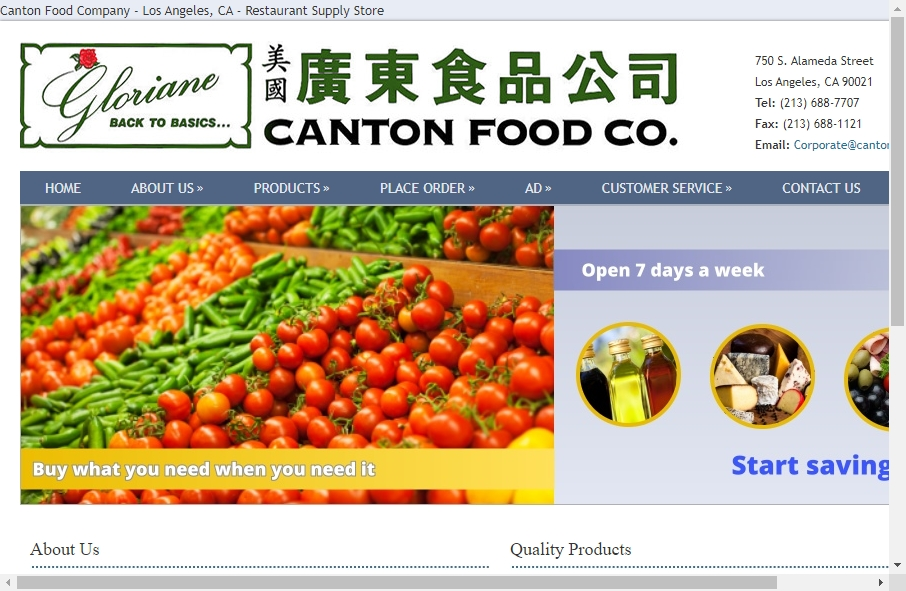 Food Website Design 18
