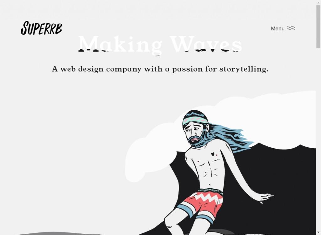 Classy Web Design Inspirations 18