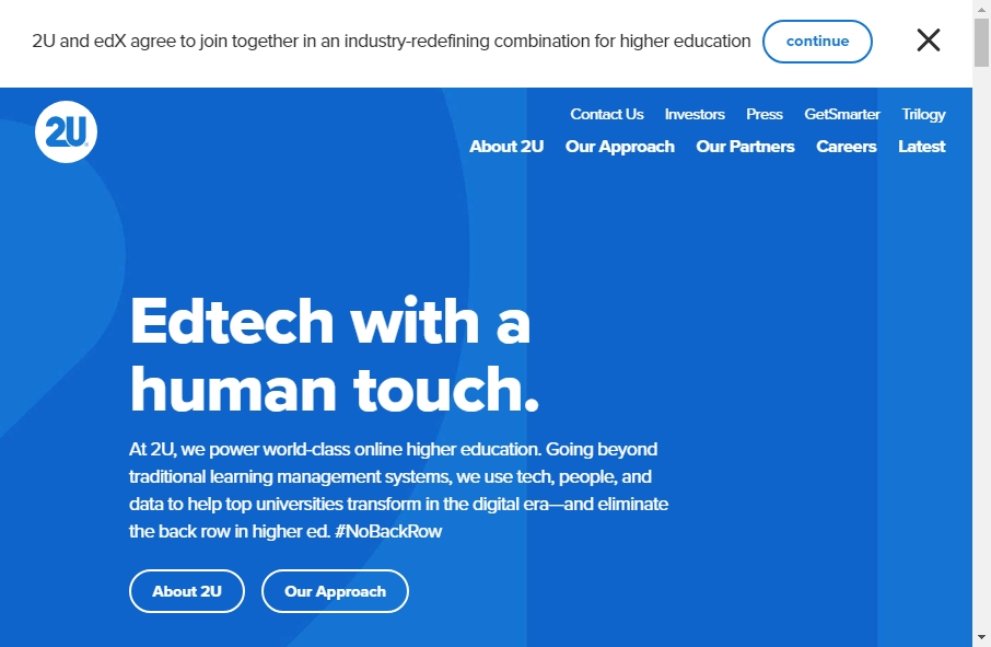 23 Examples of University Websites With Fantastic Designs 18
