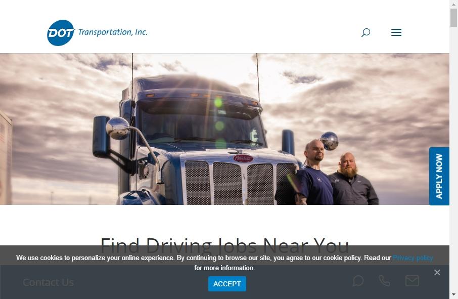 15 Amazing Transportation Website Design Examples in 2021 18