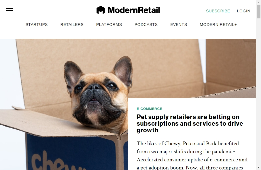 Online Retail Website Design 18