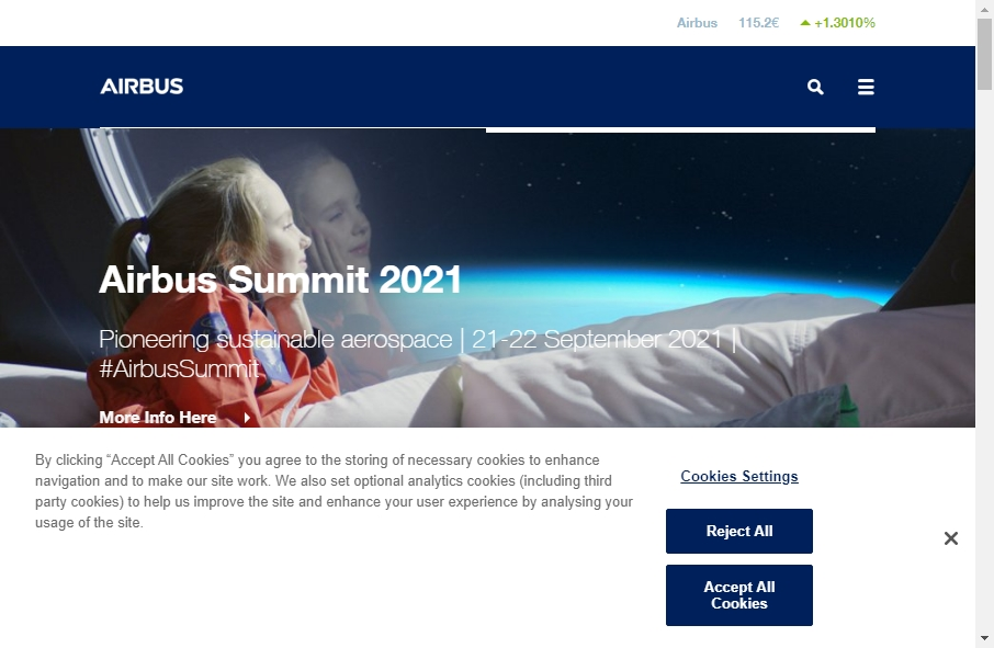 14 Examples of Aerospace Websites With Fantastic Designs 18