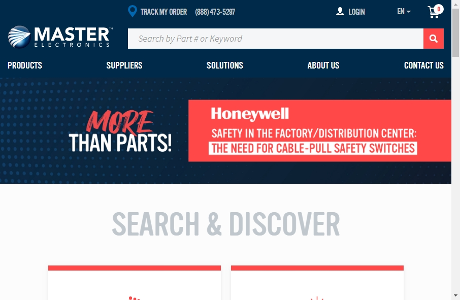 17 Great Electronics Website Examples 18