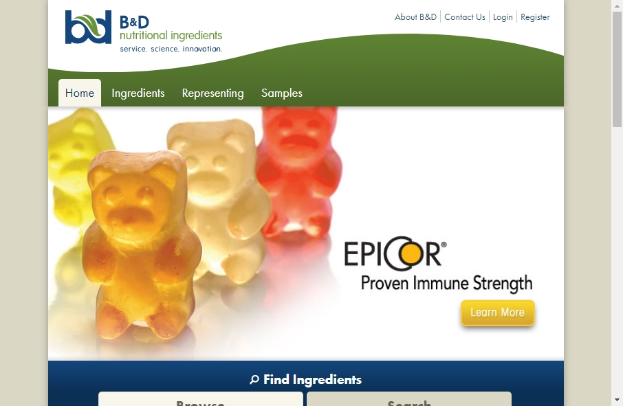 11 Great Nutritional Website Examples 17