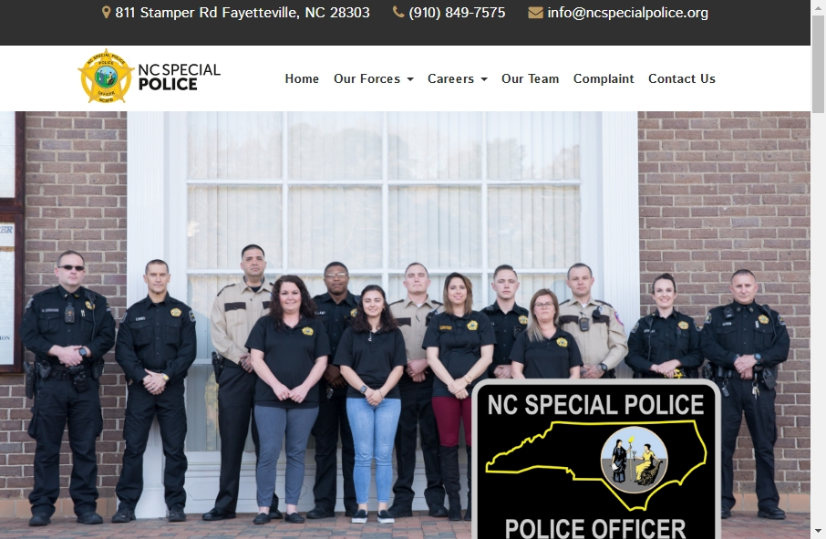 13 Examples of Inspirational Police Websites 17