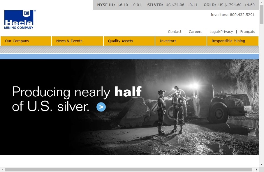15 Mining Website Examples to Inspire Your Site 18