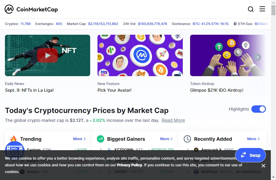 13 Examples of Crypto Currency Websites With Fantastic Designs 18