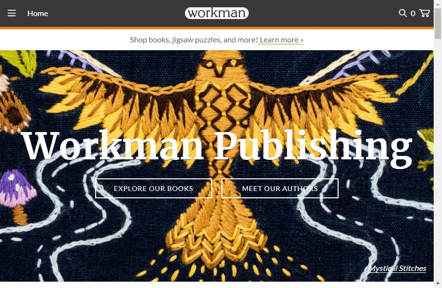 13 Great Publishing Website Examples 18