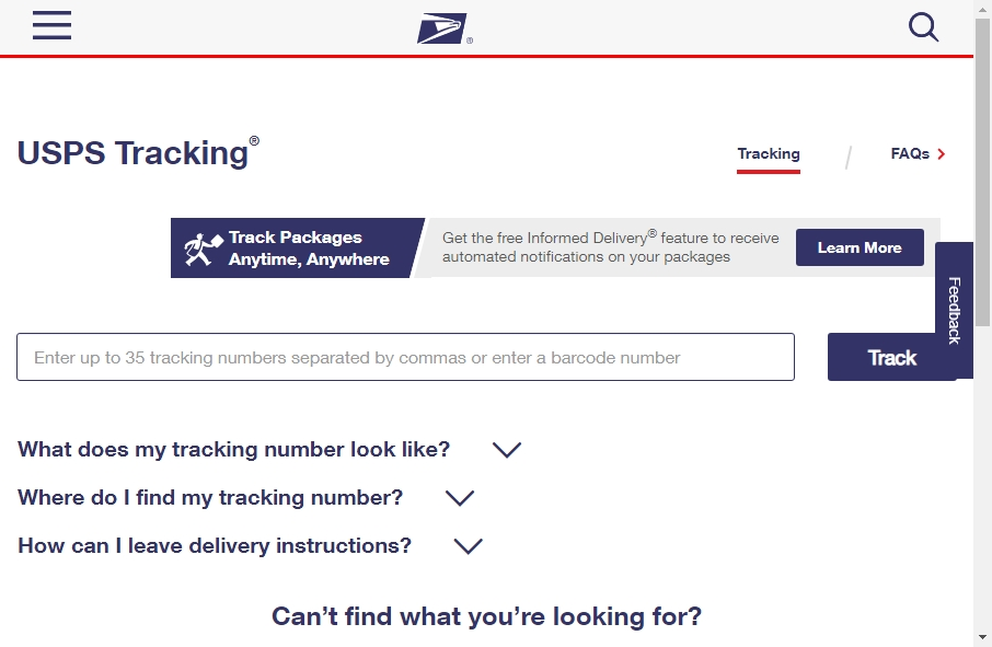 13 Great Postal Website Examples 18