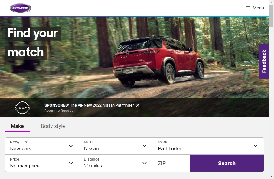 22 beautifully designed Vehicles website examples in 2021 18