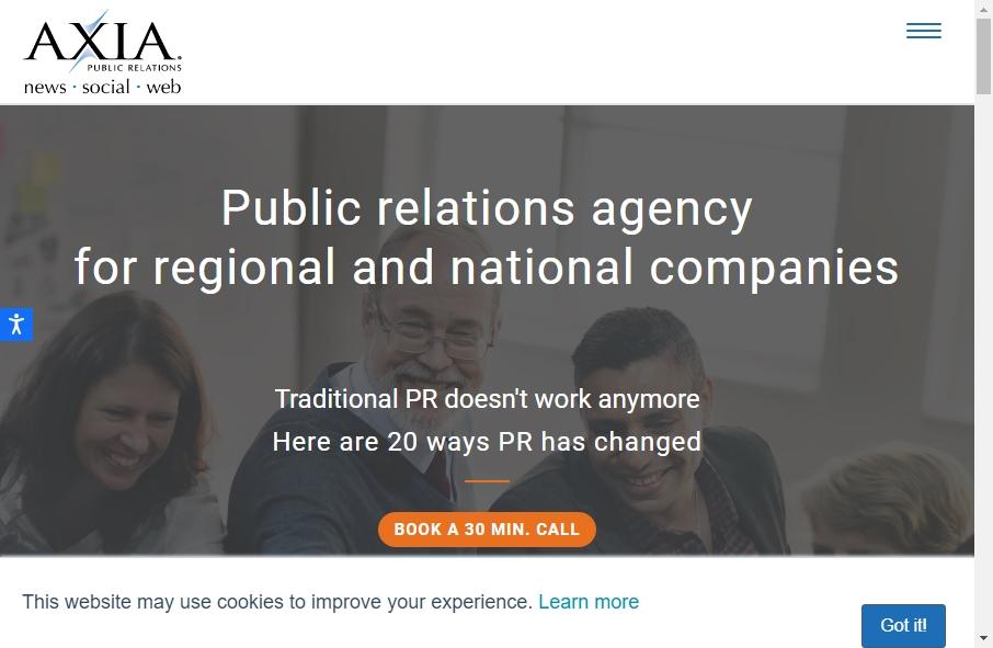 Public Relation Websites Examples 18