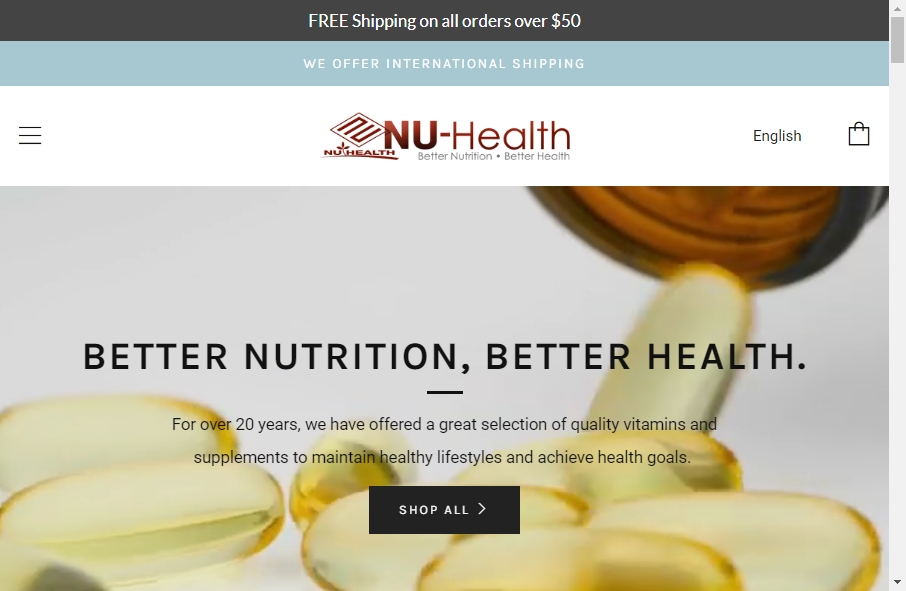 Health Product Websites Examples 18