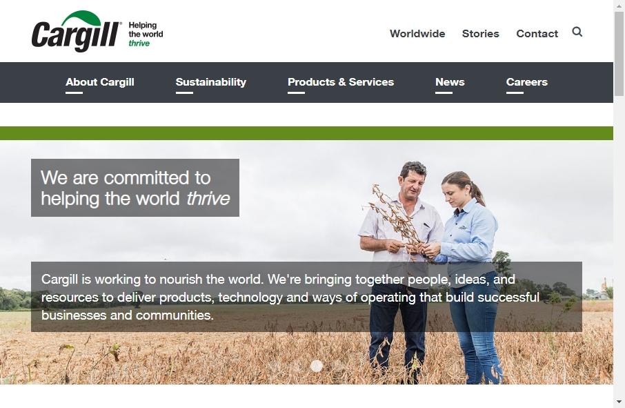 Agribusiness Website Designs 18