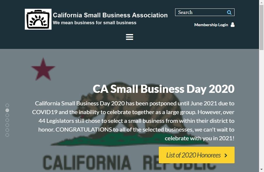 13 Best Business Association Website Design Examples for 2021 18