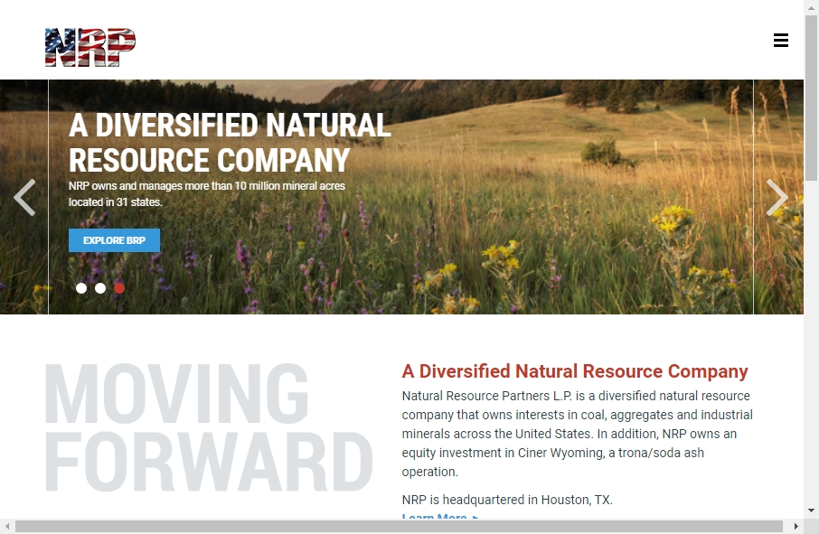 13 Great Natural Resources Website Examples 18