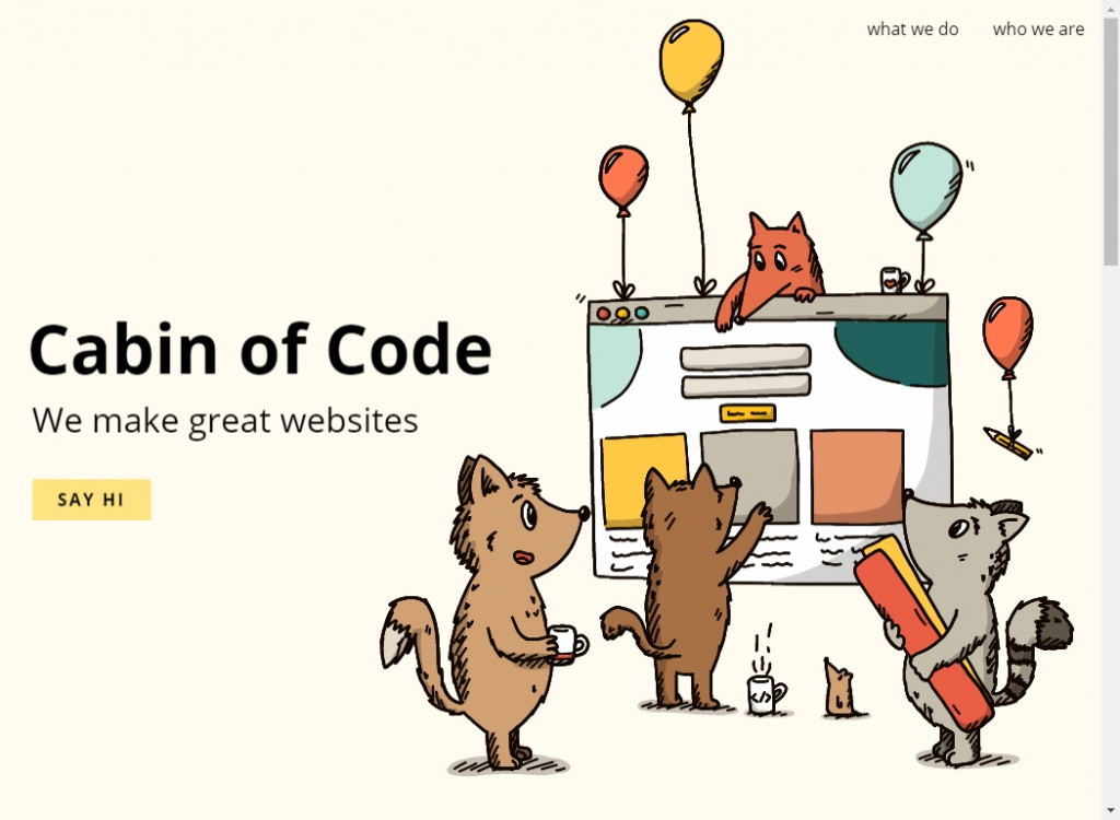 18 Beautifully Designed Single Page Websites 18