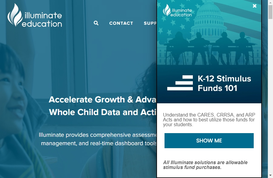 16 Amazing Educational Website Design Examples in 2021 17
