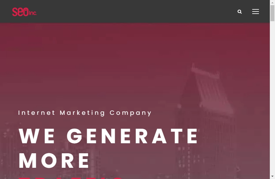 13 Amazing SEO Websites Design Examples in 2021 18
