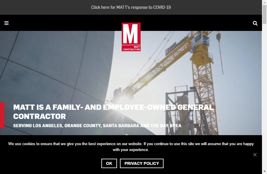 27 Examples of Construction Websites With Fantastic Designs 18