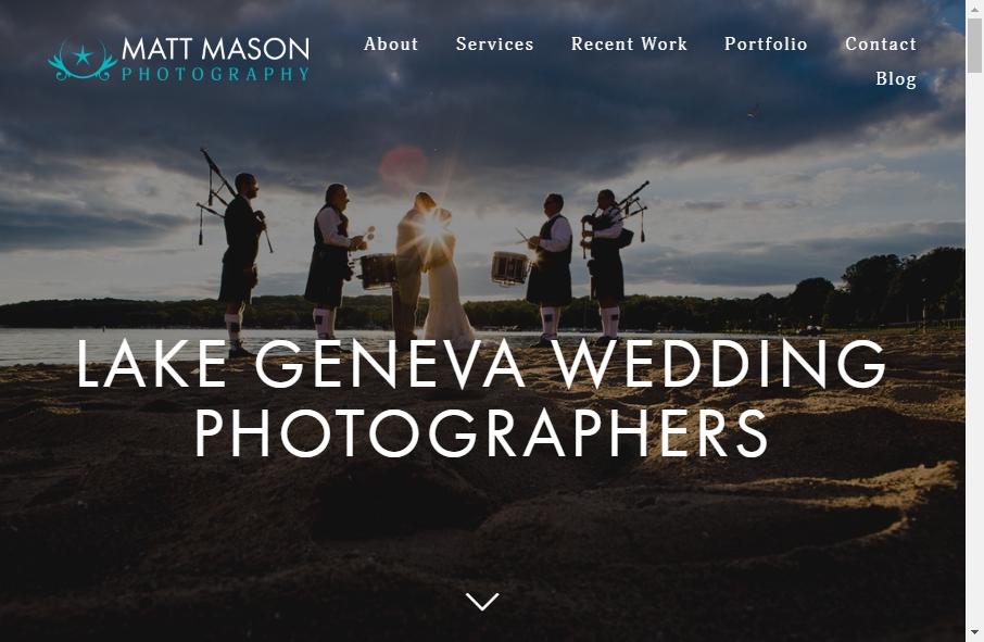 Photography Website Design 18