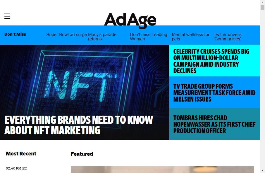 Advertising Websites Examples 18