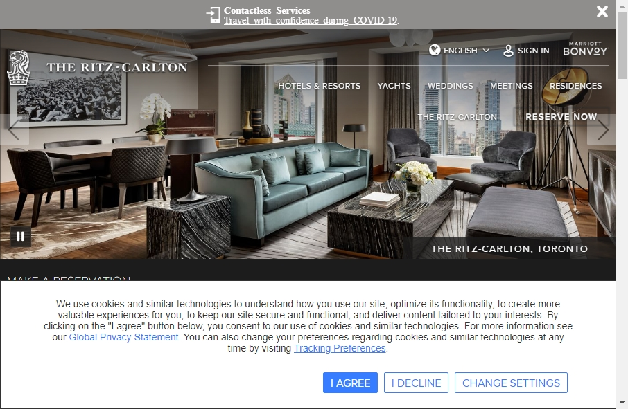 14 Amazing Luxury Website Design Examples in 2021 18