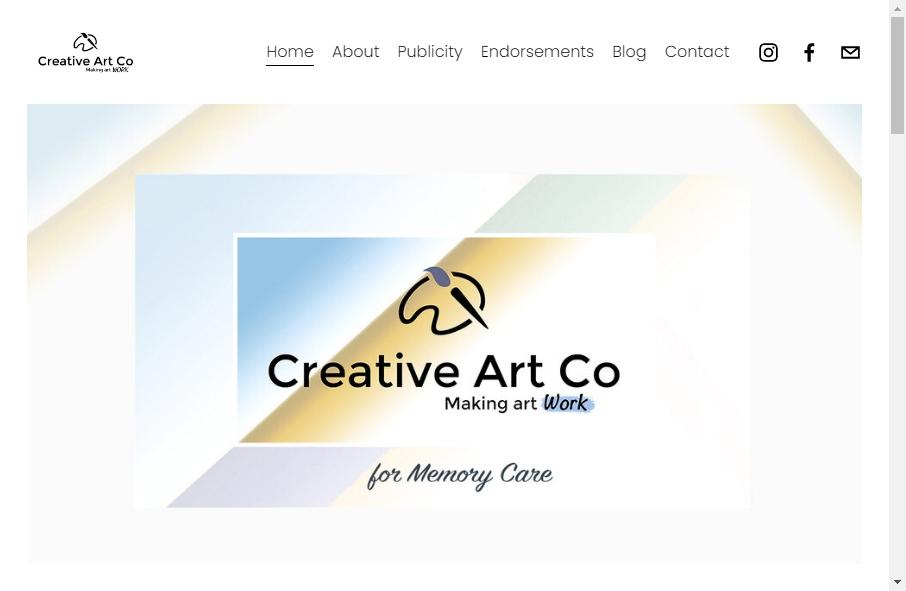 6 beautifully designed Art website examples in 2021 17