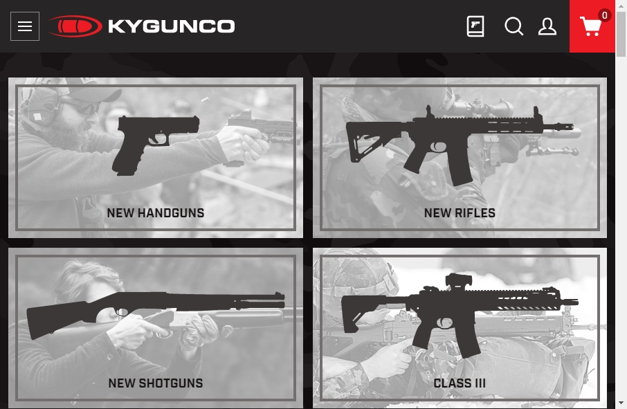 15 beautifully designed Gun website examples in 2021 18