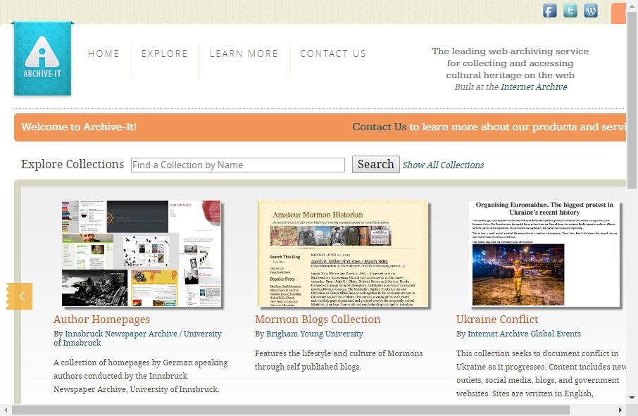 Archive Websites Designs 27
