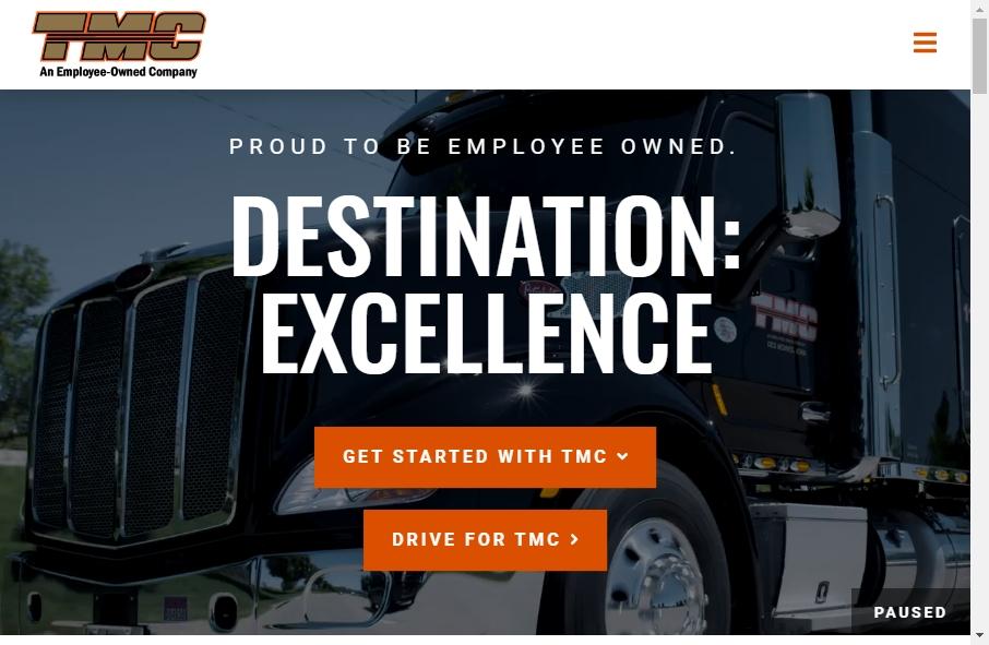 14 Amazing Trucking Website Design Examples in 2021 25