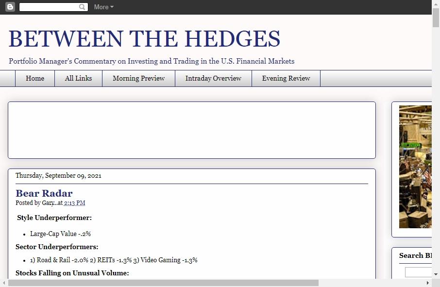 Hedge Fund Website Design 27