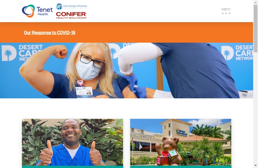 11 Examples of Hospital Websites With Fantastic Designs 22