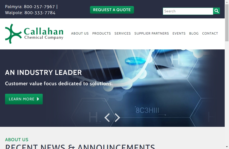 20 Examples of Chemical Websites With Fantastic Designs 24