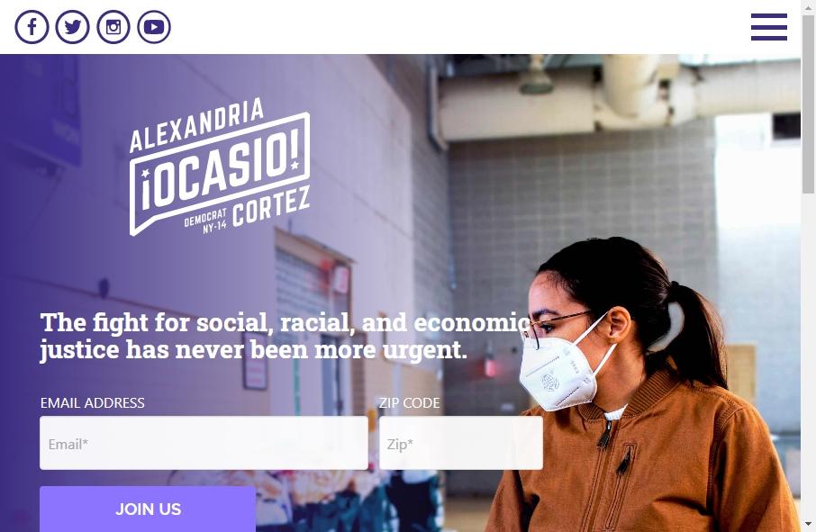10 Examples of Politics Websites With Fantastic Designs 24