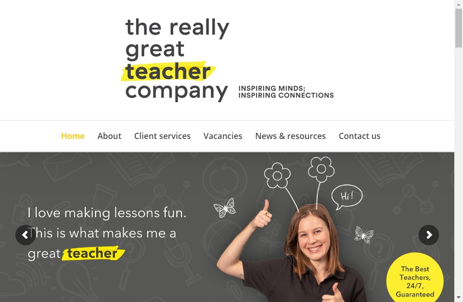 10 beautifully designed Teacher website examples in 2021 24