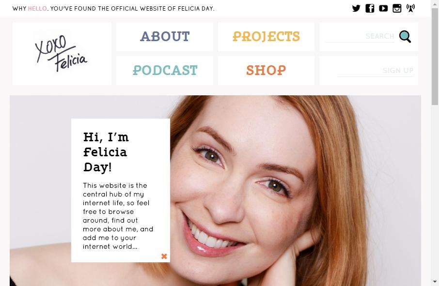 15 Great Celebrity Website Examples 27