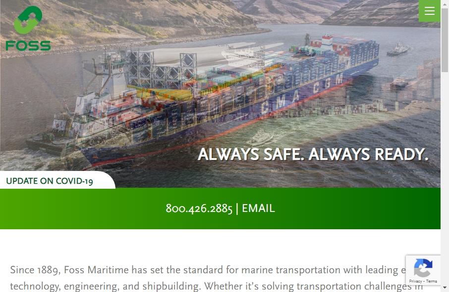 8 beautifully designed Marine website examples in 2021 23