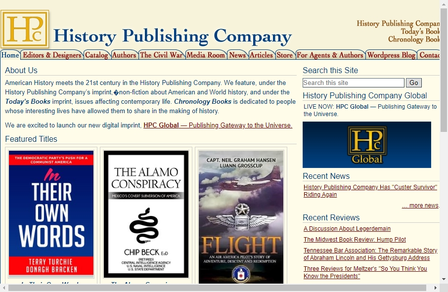 13 Great Publishing Website Examples 27