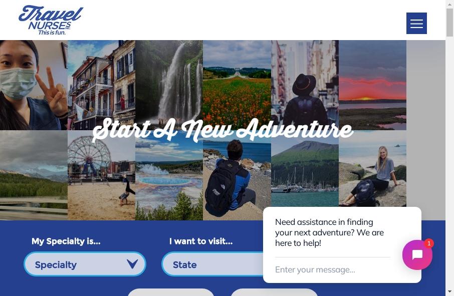 10 Amazing Nurses Website Design Examples in 2021 25