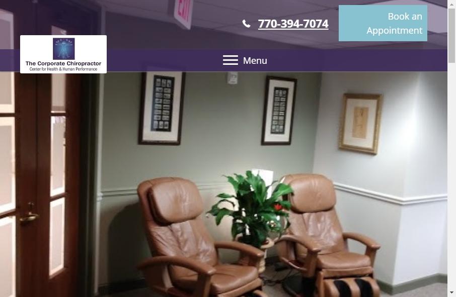 16 Great Chiropractors Website Examples 27