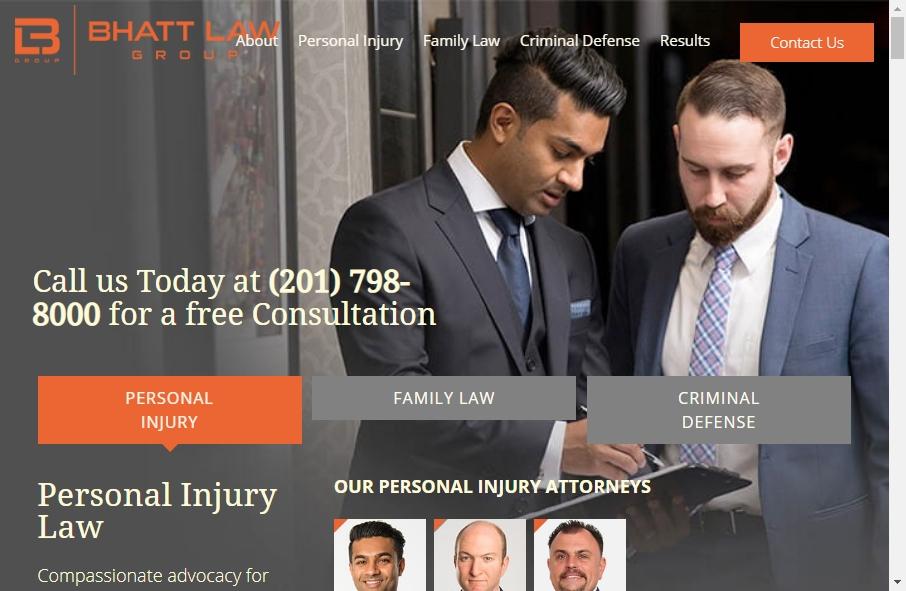 Advocate Websites Examples 25