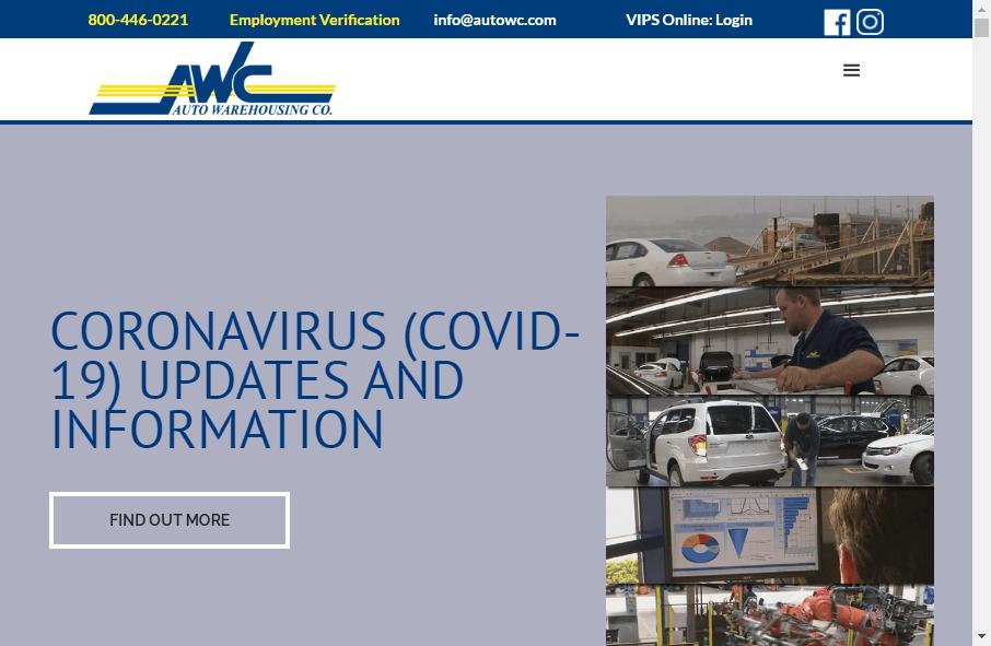 Warehousing Websites Examples 27