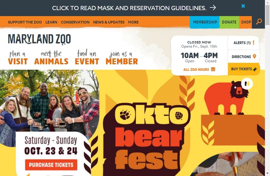 Zoo Websites Design 26