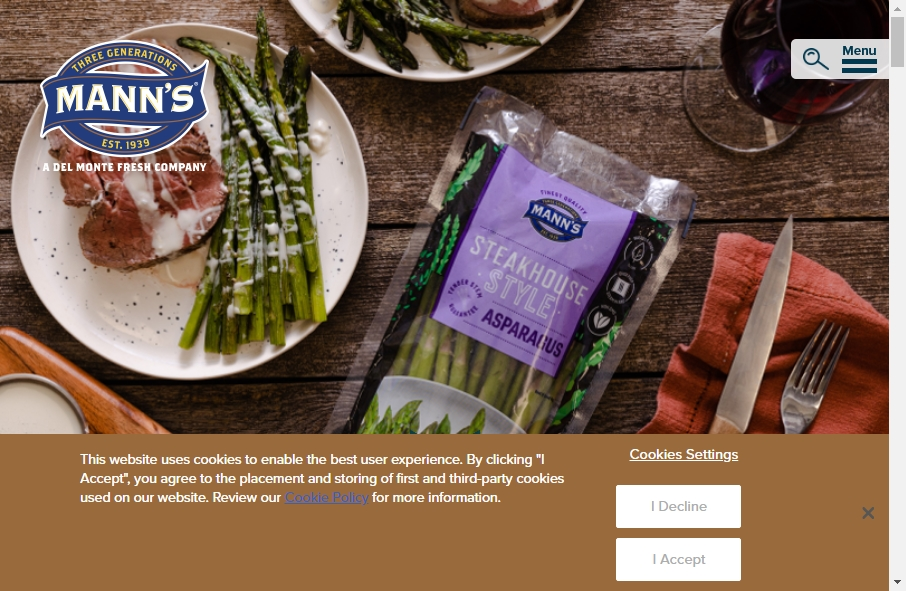 Examples of Vegetable Websites With Fantastic Designs 25