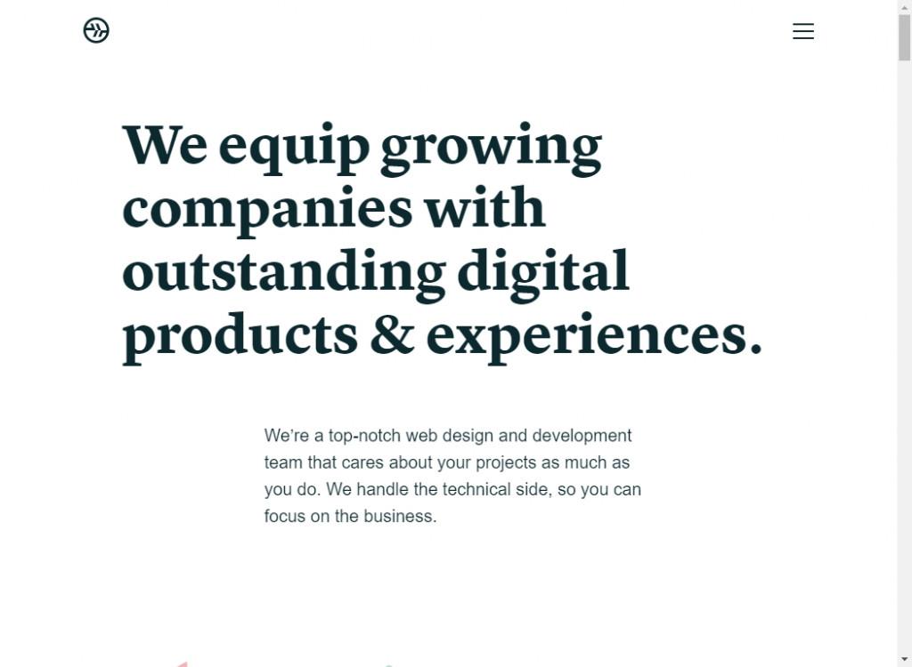 18 Beautifully Designed Single Page Websites 27