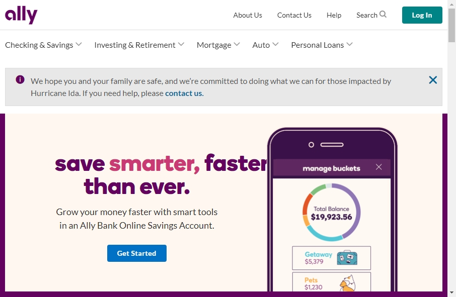 13 beautifully designed Financial website examples in 2021 23