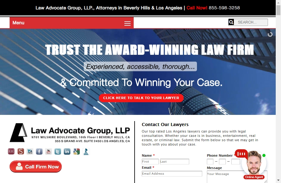 16 Great Lawyer Website Examples 26