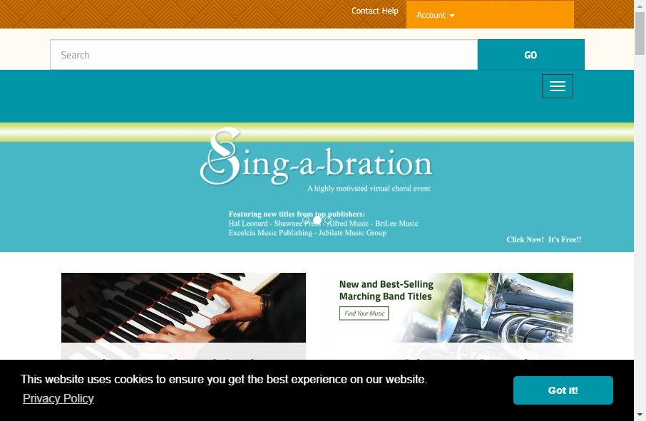 16 Great Music Website Examples 24